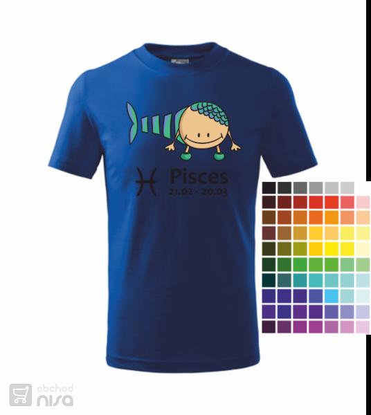 dětské tričko Ryba od c58b1ead3e