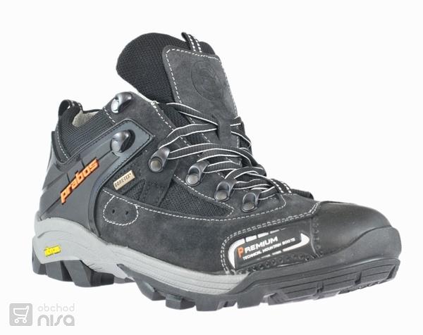 e1278d71b10 Treková obuv polobotka PRABOS NANGA šedá od