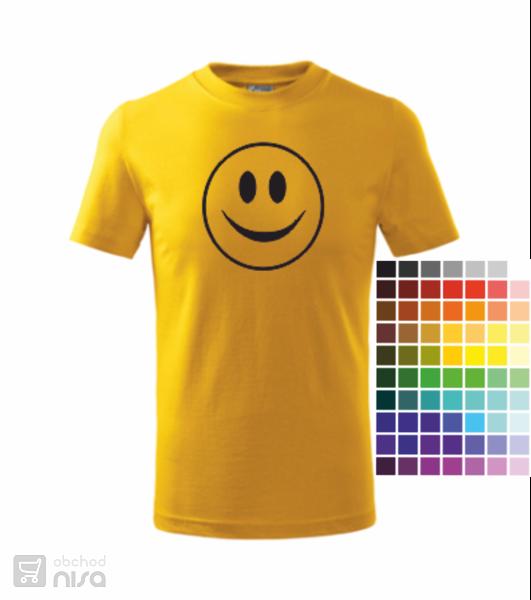 dětské tričko Smajlík od 11e0be1e33