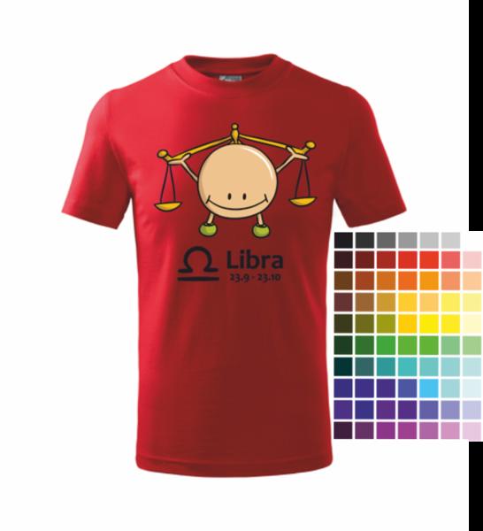 dětské tričko Váhy