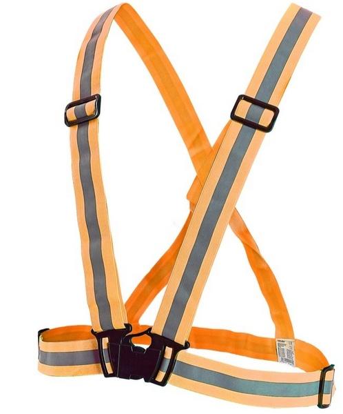 Reflexní kříž oranžový